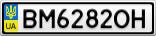 Номерной знак - BM6282OH