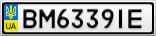 Номерной знак - BM6339IE