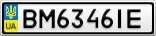 Номерной знак - BM6346IE
