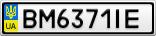 Номерной знак - BM6371IE
