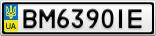 Номерной знак - BM6390IE