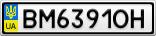 Номерной знак - BM6391OH
