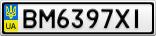 Номерной знак - BM6397XI