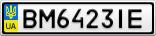 Номерной знак - BM6423IE