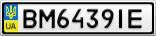 Номерной знак - BM6439IE