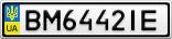 Номерной знак - BM6442IE