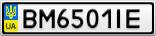 Номерной знак - BM6501IE