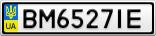 Номерной знак - BM6527IE