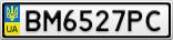 Номерной знак - BM6527PC