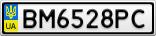 Номерной знак - BM6528PC