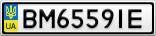 Номерной знак - BM6559IE