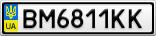 Номерной знак - BM6811KK