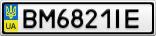 Номерной знак - BM6821IE