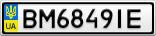 Номерной знак - BM6849IE