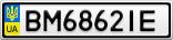 Номерной знак - BM6862IE