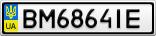 Номерной знак - BM6864IE