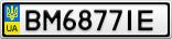 Номерной знак - BM6877IE