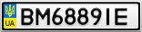 Номерной знак - BM6889IE