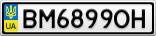 Номерной знак - BM6899OH
