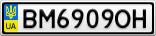 Номерной знак - BM6909OH