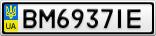 Номерной знак - BM6937IE