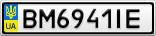 Номерной знак - BM6941IE
