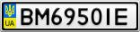 Номерной знак - BM6950IE