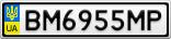 Номерной знак - BM6955MP