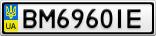 Номерной знак - BM6960IE