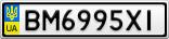 Номерной знак - BM6995XI