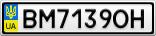Номерной знак - BM7139OH