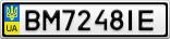 Номерной знак - BM7248IE