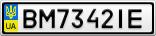 Номерной знак - BM7342IE