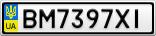 Номерной знак - BM7397XI