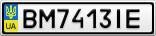 Номерной знак - BM7413IE
