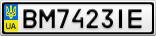 Номерной знак - BM7423IE