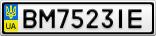 Номерной знак - BM7523IE
