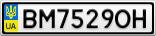 Номерной знак - BM7529OH