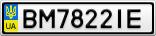 Номерной знак - BM7822IE