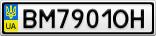 Номерной знак - BM7901OH