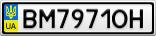 Номерной знак - BM7971OH