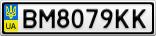 Номерной знак - BM8079KK