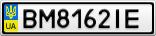 Номерной знак - BM8162IE