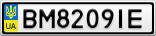 Номерной знак - BM8209IE