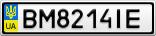 Номерной знак - BM8214IE