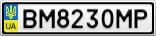 Номерной знак - BM8230MP