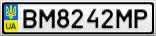 Номерной знак - BM8242MP