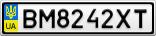 Номерной знак - BM8242XT