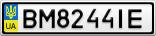 Номерной знак - BM8244IE