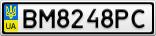 Номерной знак - BM8248PC